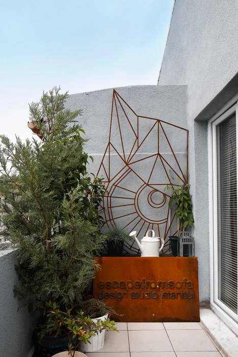 Balcon, Veranda & Terrasse originaux par Escapefromsofa Éclectique