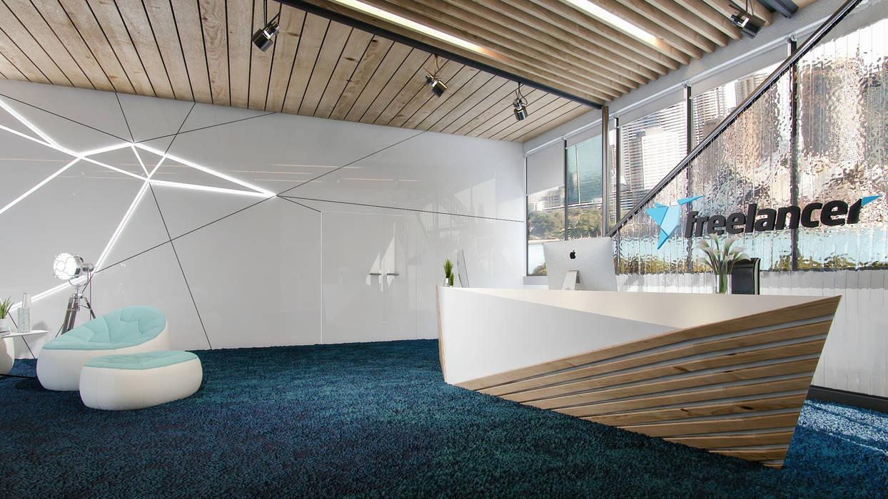 Office, Sydney by ARCHIplus Minimalist
