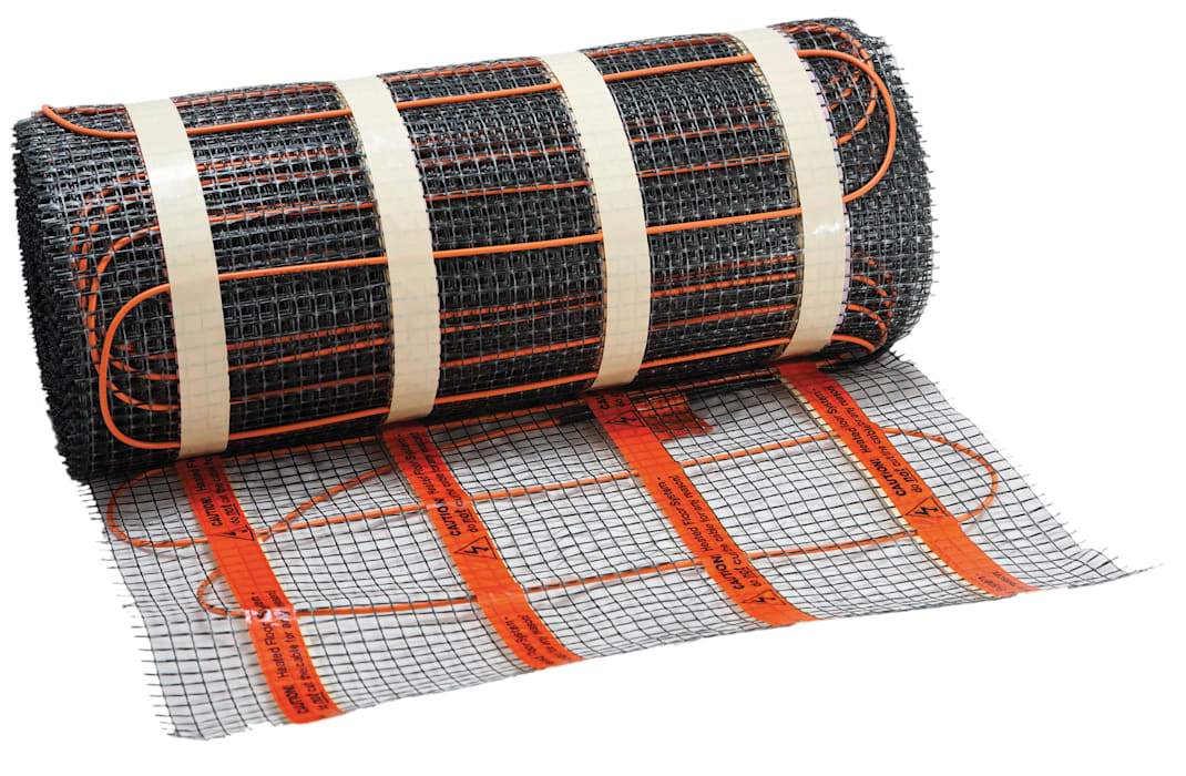 Heat Mat Electric Underfloor Heating :  Kitchen by Heat Mat Limited,
