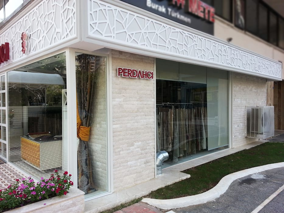 Emre Urasoğlu İç Mimarlık Tasarım Ltd.Şti. – Perdahçı Teksti & Tasarım - Adana:  tarz Teras