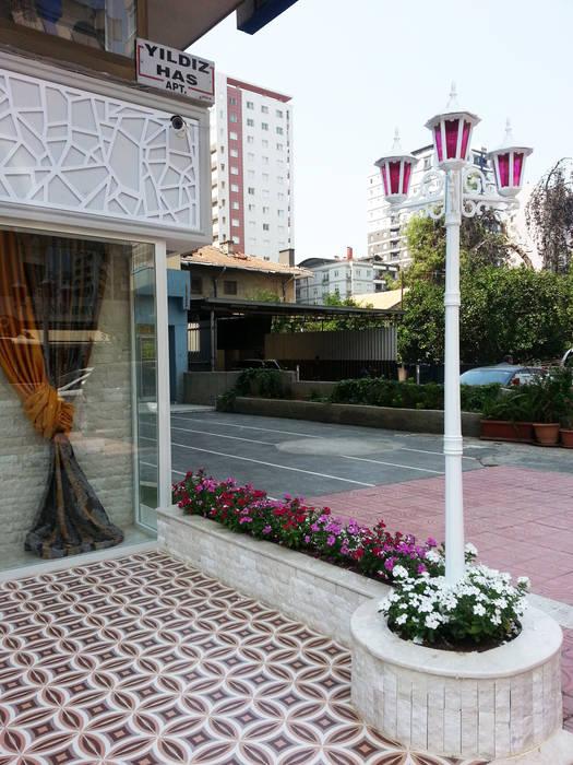 Perdahçı Teksti & Tasarım - Adana Akdeniz Balkon, Veranda & Teras Emre Urasoğlu İç Mimarlık Tasarım Ltd.Şti. Akdeniz