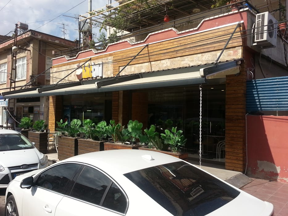 Emre Urasoğlu İç Mimarlık Tasarım Ltd.Şti. – Bakeland Pattisserie - Adana:  tarz Evler, Modern