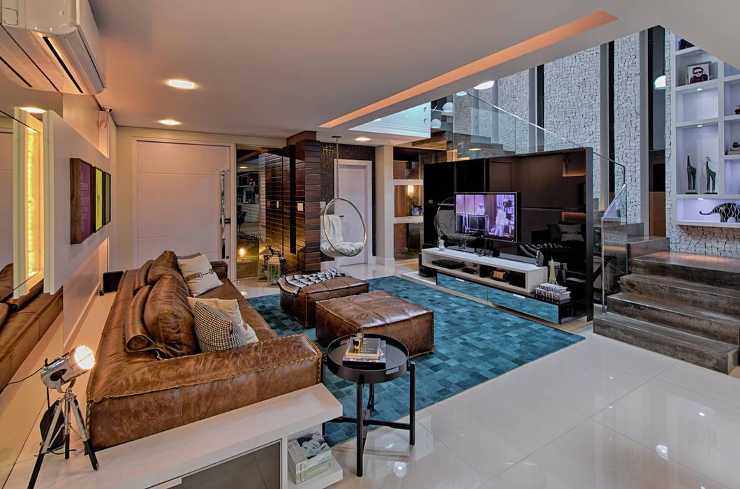 Salas de estilo moderno de Espaço do Traço arquitetura Moderno