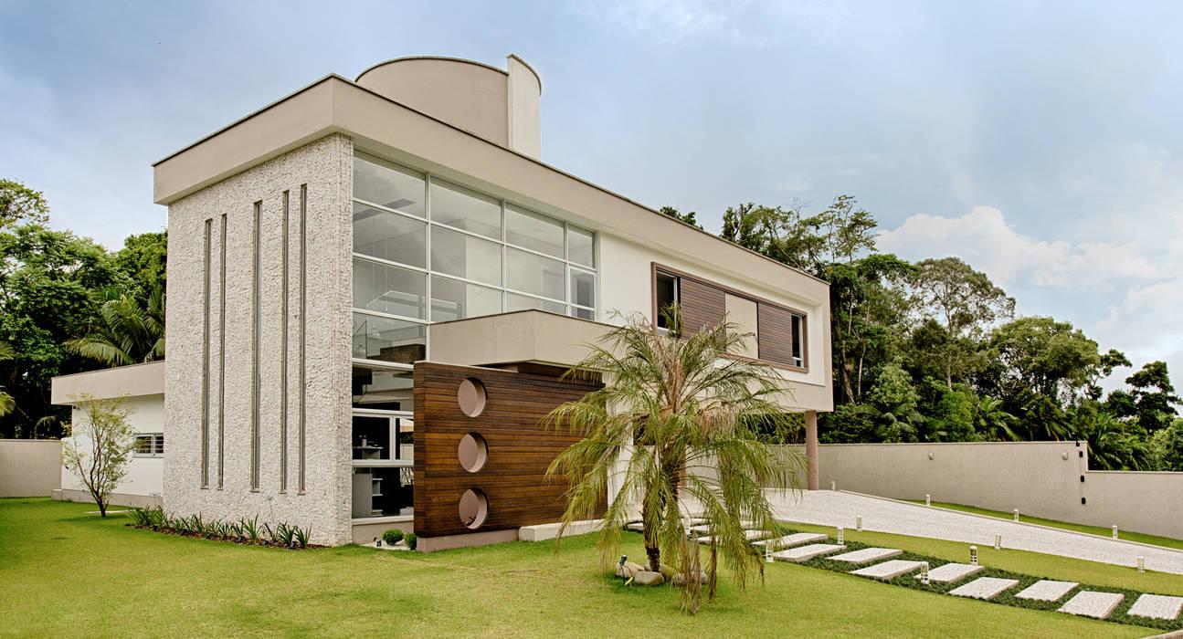 Espaço do Traço arquitetura Moderne Häuser