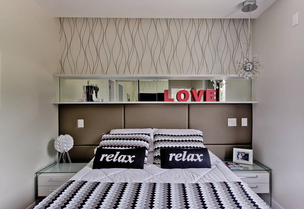 Chambre de style  par Espaço do Traço arquitetura, Moderne
