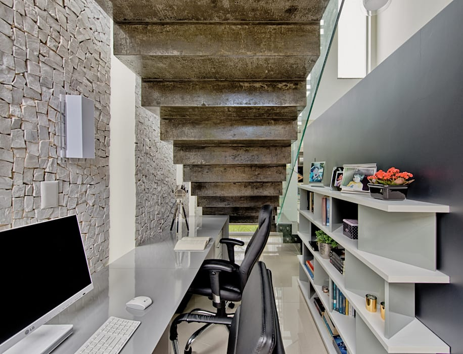 Espaço do Traço arquitetura Moderne Arbeitszimmer