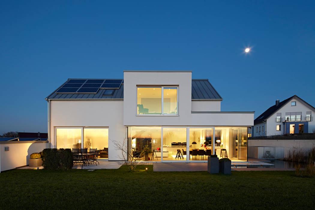 Lichtdurchflutetes Satteldach Moderne Hauser Von Volse Architekten Bda Modern Homify