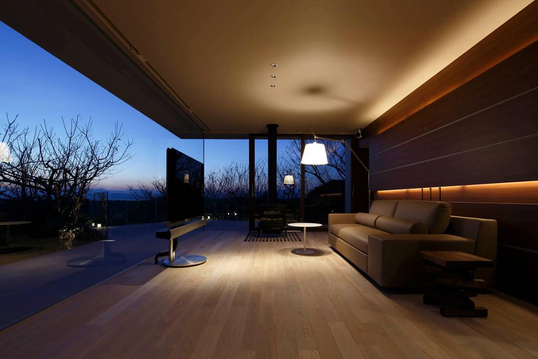Mアーキテクツ|高級邸宅 豪邸 注文住宅 別荘建築 LUXURY HOUSES | M-architects Salas de estilo moderno