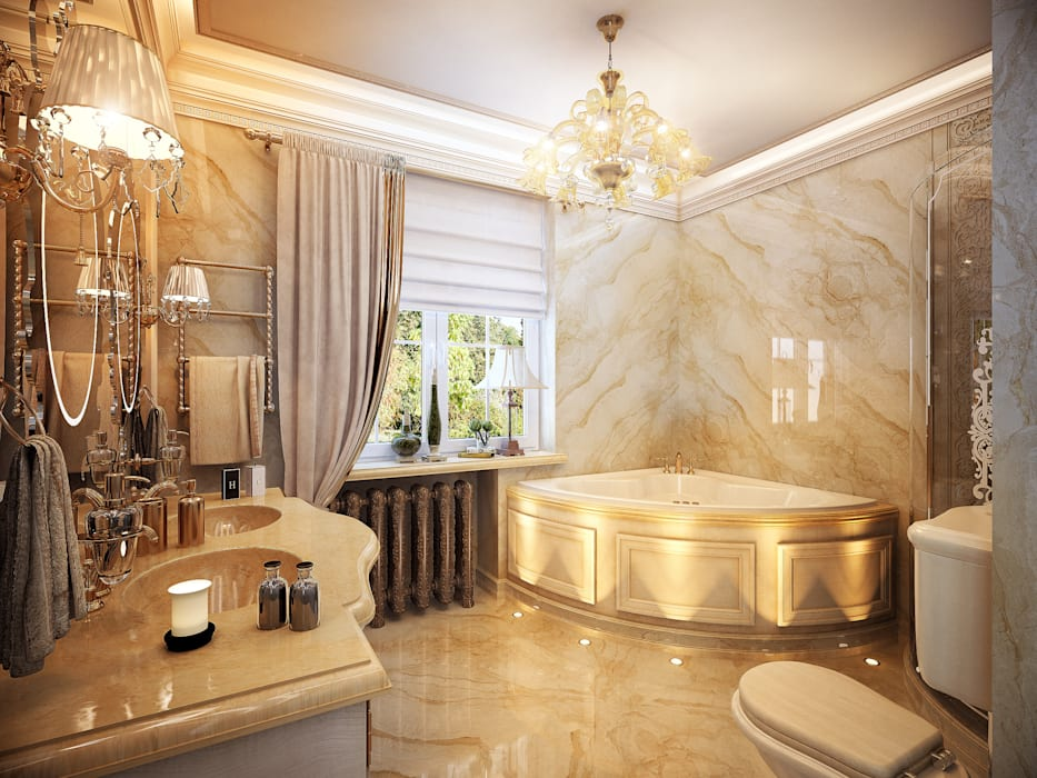 Bathroom by Y&S ARCHITECTURE – INTERIOR DESIGN, Classic