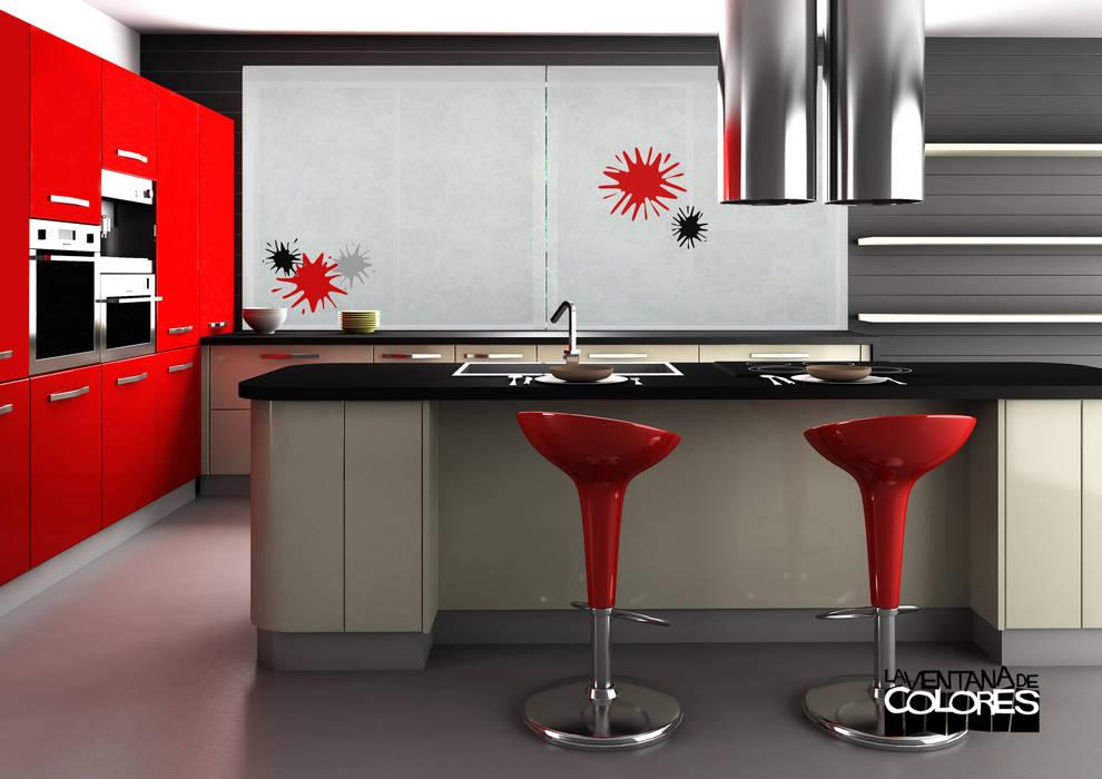 Ambientes actuales de La Ventana de Colores Cocinas de estilo moderno de LA VENTANA DE COLORES Moderno