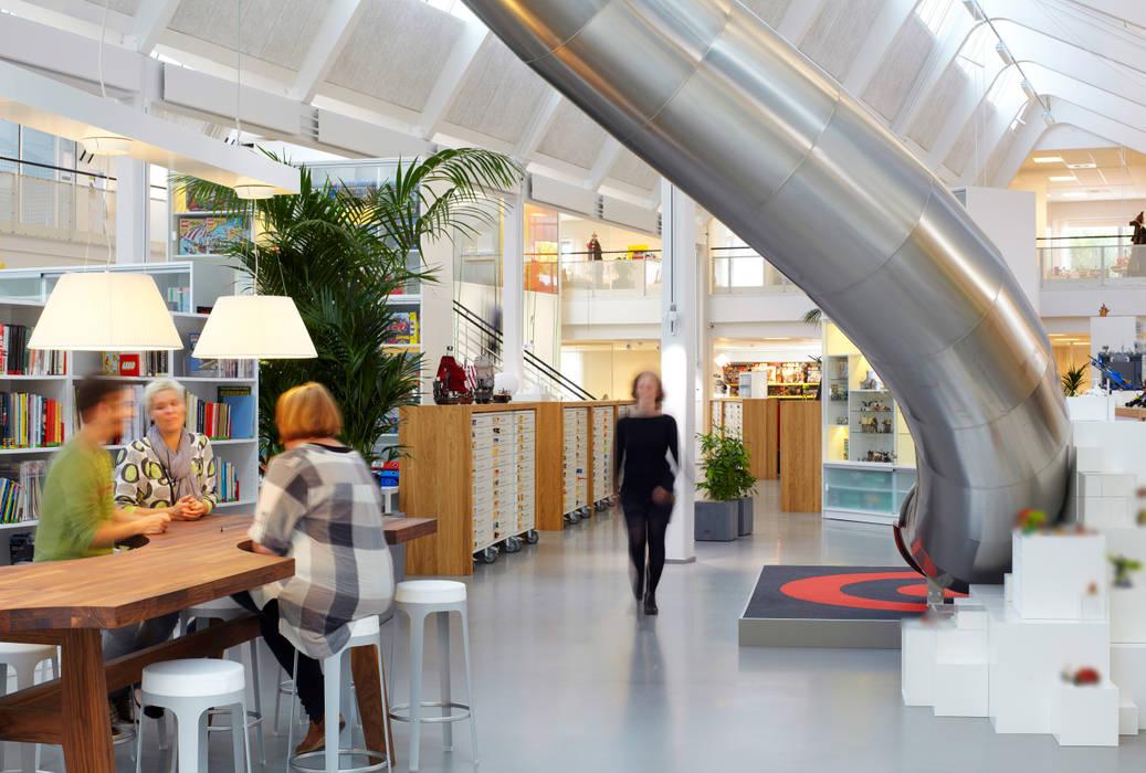 Indoor Slide:  Office buildings by LEGO,