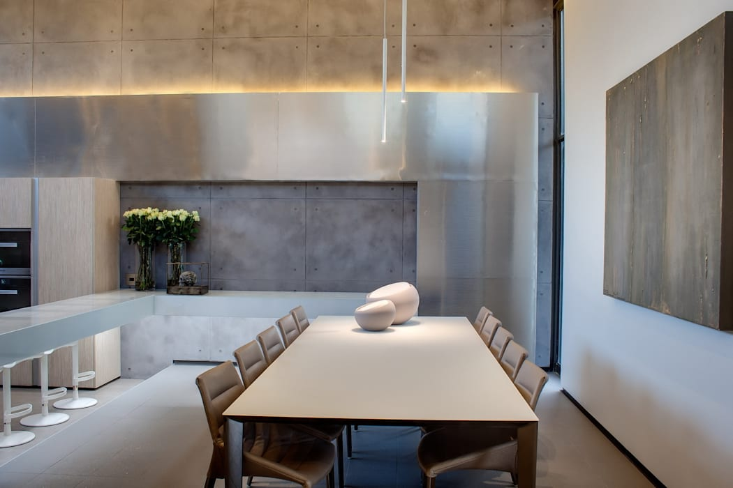 House Sar Nico Van Der Meulen Architects Modern dining room