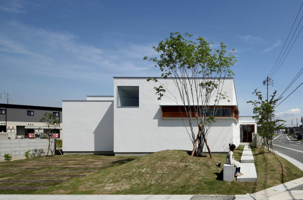 ファサード の 松原建築計画 / Matsubara Architect Design Office 北欧 木 木目調