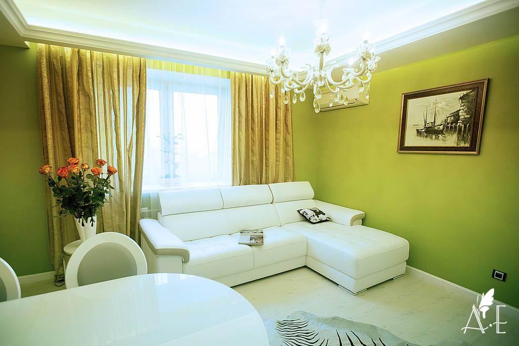 Salas de estilo ecléctico de Apolonov Interiors Ecléctico