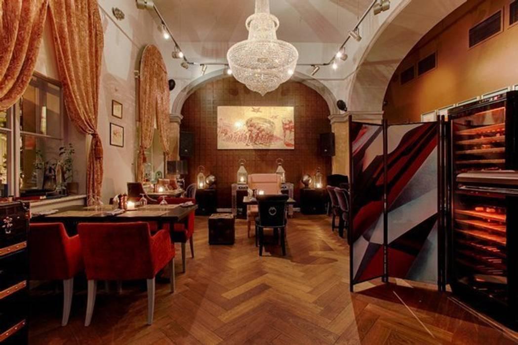 Ruang Komersial Gaya Eklektik Oleh Atelier Interior Eklektik