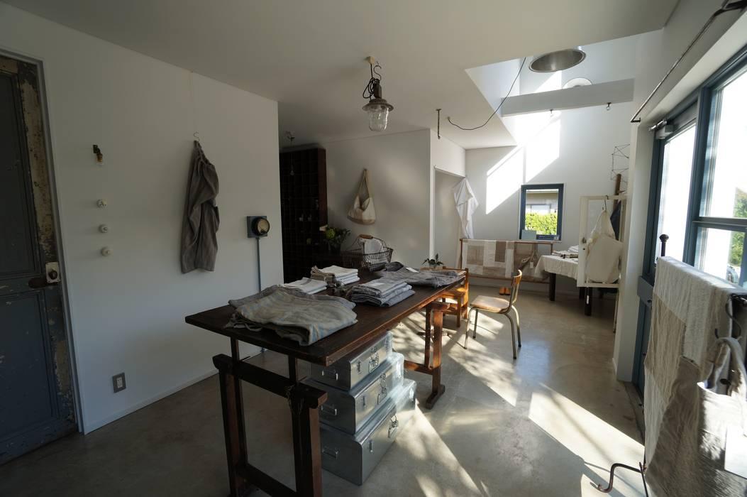 N-house さくま建築設計事務所 インダストリアルデザインの 多目的室