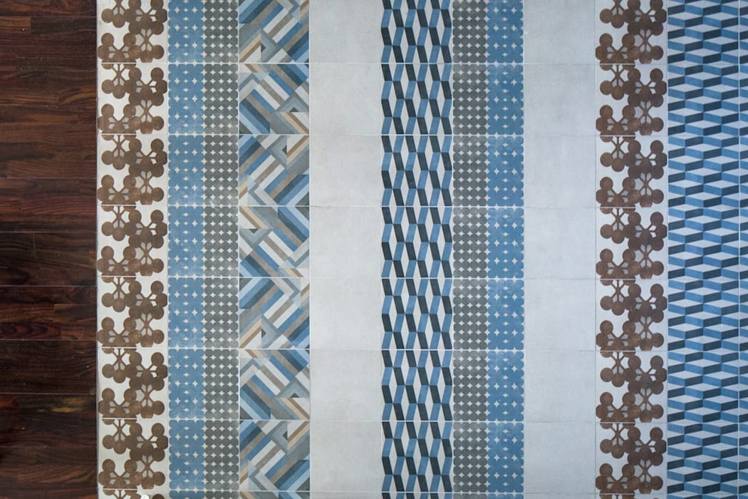 VUE SUR SEINE Murs & Sols modernes par AP ARCHITECTES Moderne