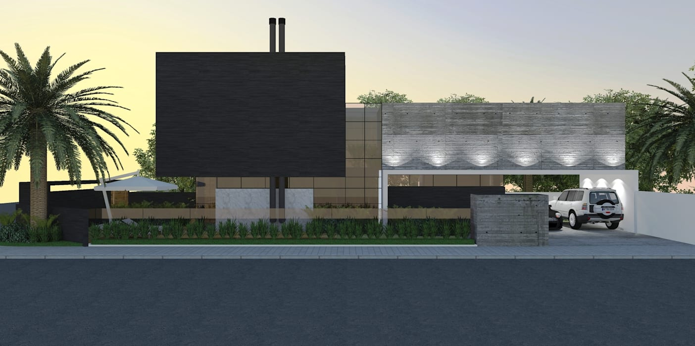 บ้านและที่อยู่อาศัย โดย ZAAV Arquitetura, มินิมัล
