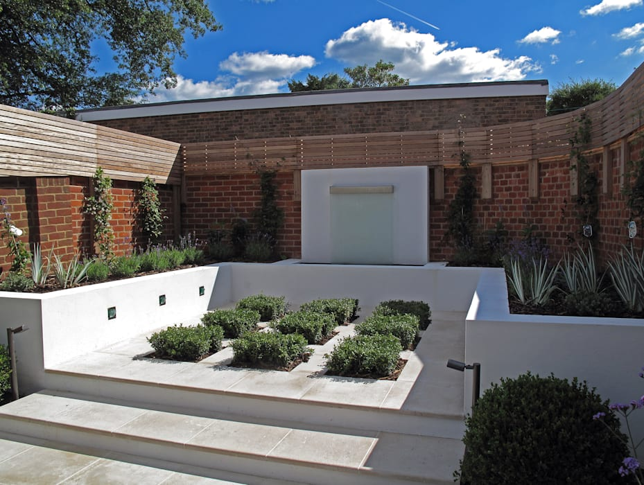 Contemporary Garden in Guildford Modern garden by Cherry Mills Garden Design Modern