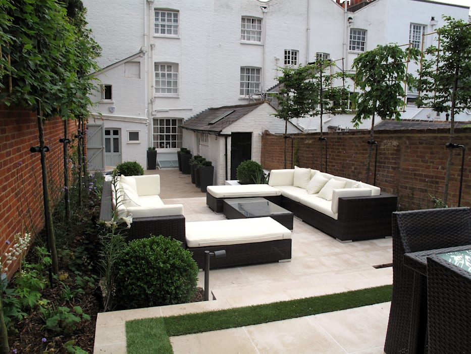 Contemporary Garden in Guildford Modern garden by Cherry Mills Garden Design Modern