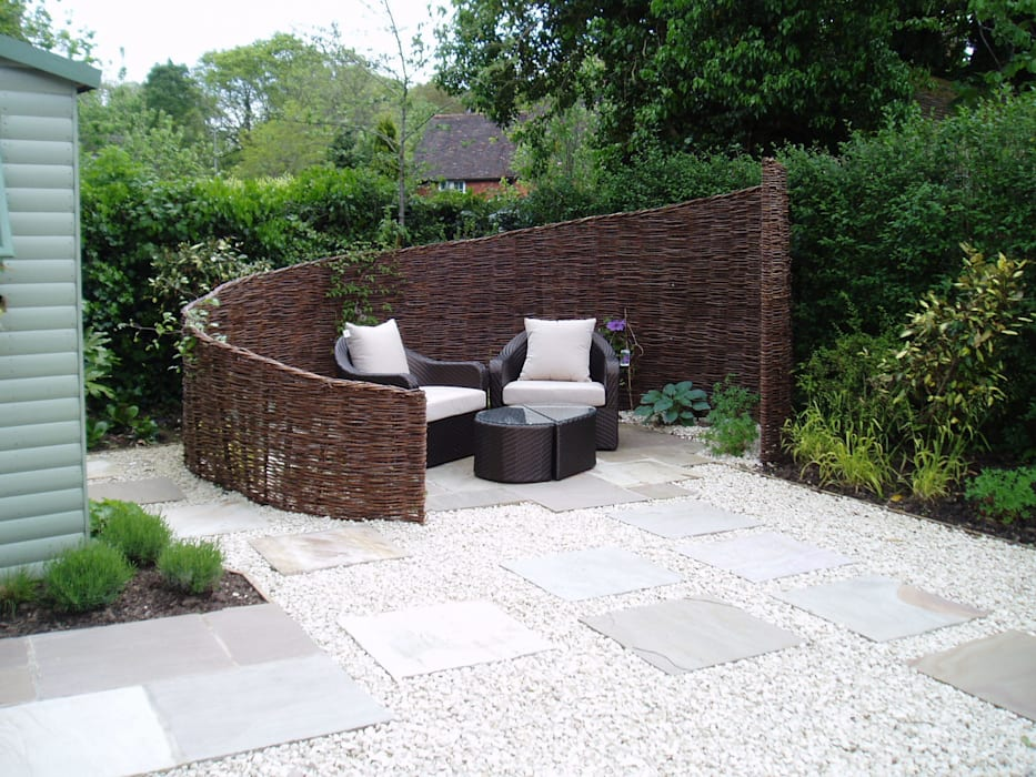 Low Maintenance Garden Eclectic Style Garden By Cherry Mills