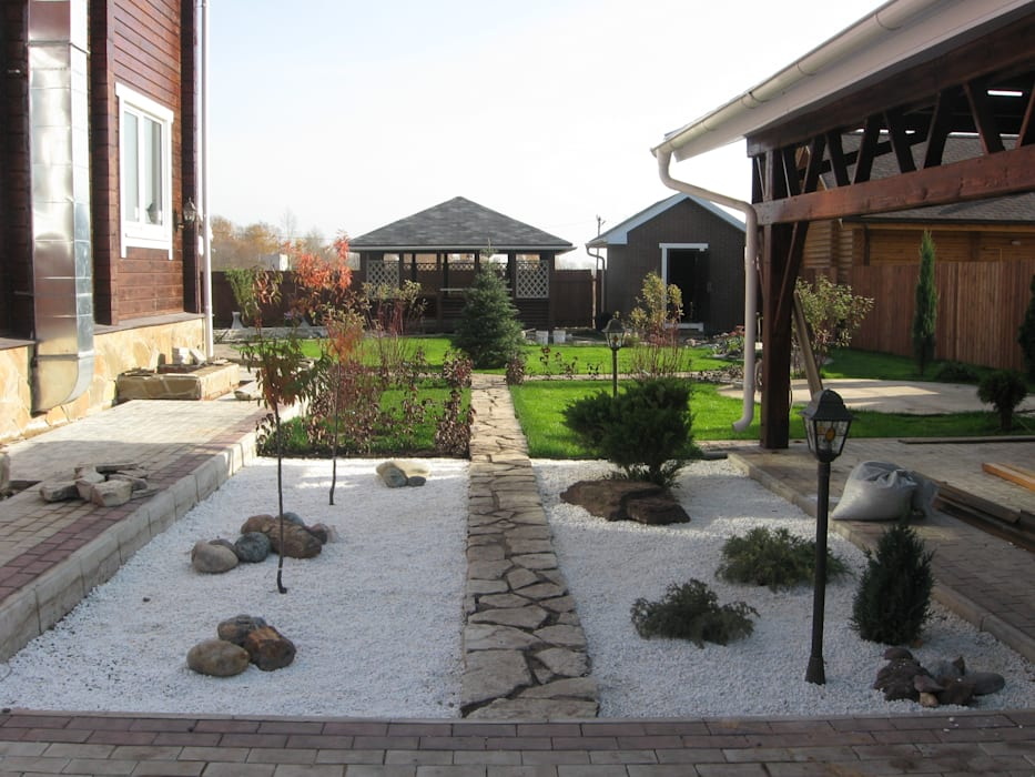 TOPOS Minimalist style garden