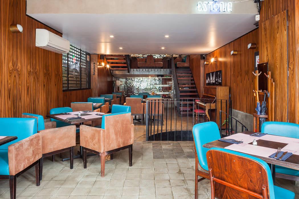 Térreo: Espaços gastronômicos  por MM18 Arquitetura