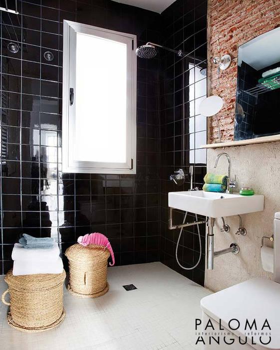 Salle de bain industrielle par Interiorismo Paloma Angulo Industriel