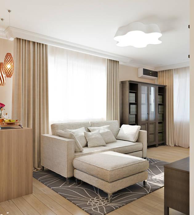 Квартира для девушки: Гостиная в . Автор – Иван Урека