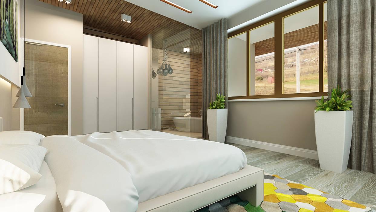 Kamar Tidur Minimalis Oleh Apolonov Interiors Minimalis