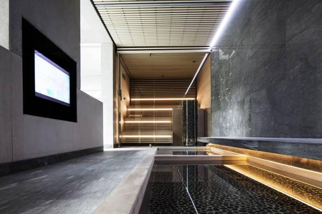 Spa de style  par KleurInKleur interieur & architectuur, Minimaliste