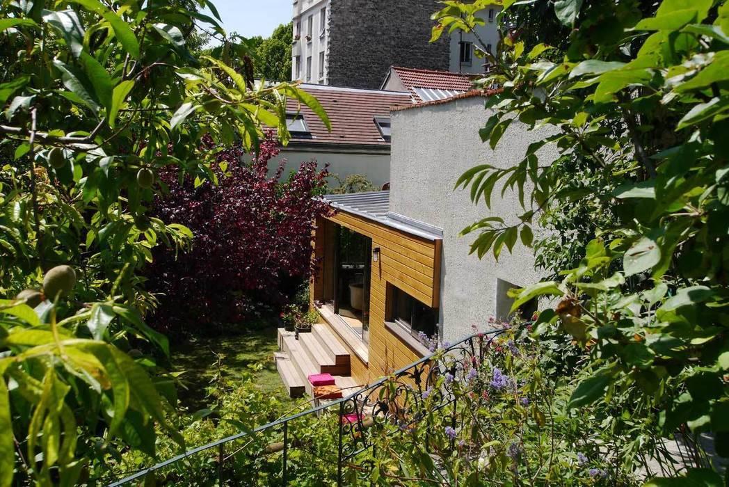 Le jardin: Jardin de style de style Moderne par MELANIE LALLEMAND ARCHITECTURES