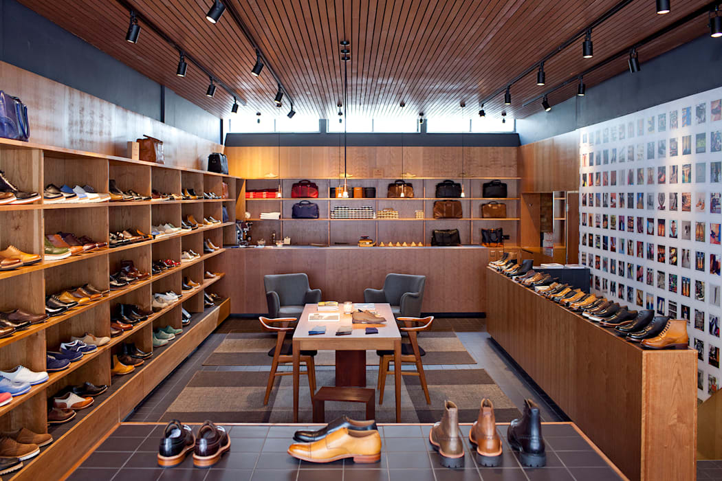 Grenson Lambs Conduit Street Modern offices & stores by helen hughes design studio ltd Modern