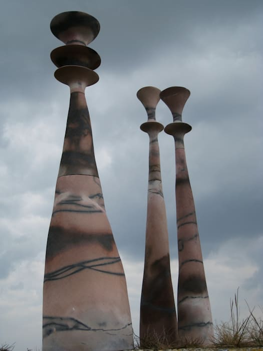 saggar spindles:  Terrace by claire ireland,