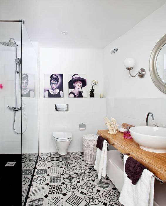 Ванные комнаты в . Автор – Disak Studio , Эклектичный