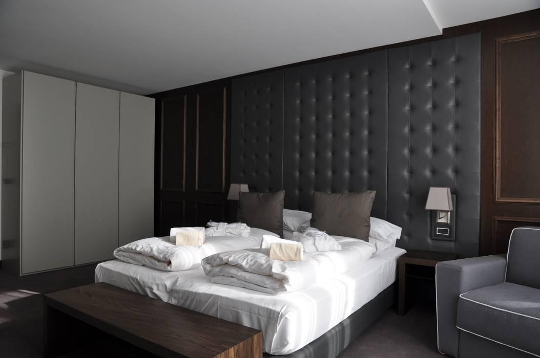 Hotel wulfenia 4****. passo pramollo. austria: camera da letto in ...