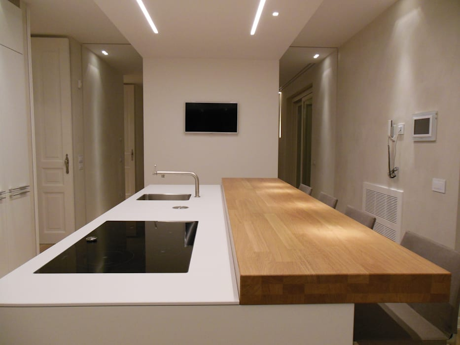 Minimalist kitchen by RO|a_ Minimalist