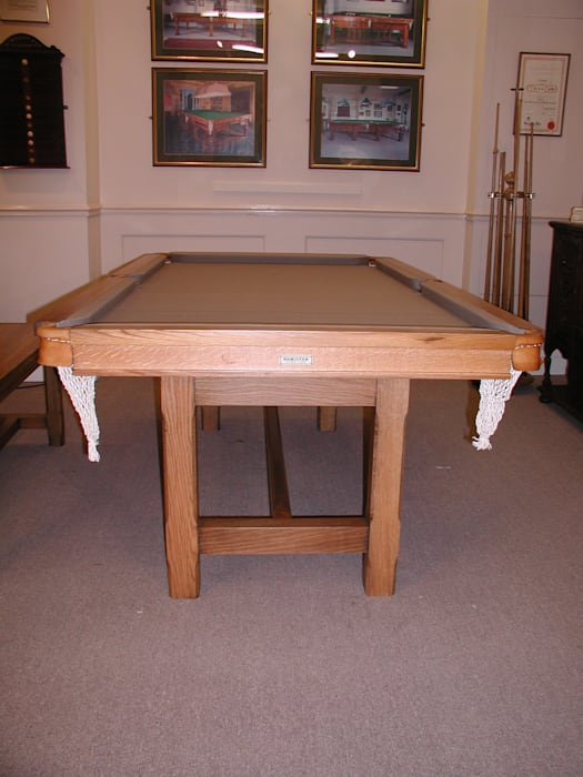 7 ft Lindo Convertible Dining Table, with the leaves removed. de HAMILTON BILLIARDS & GAMES CO LTD Rural