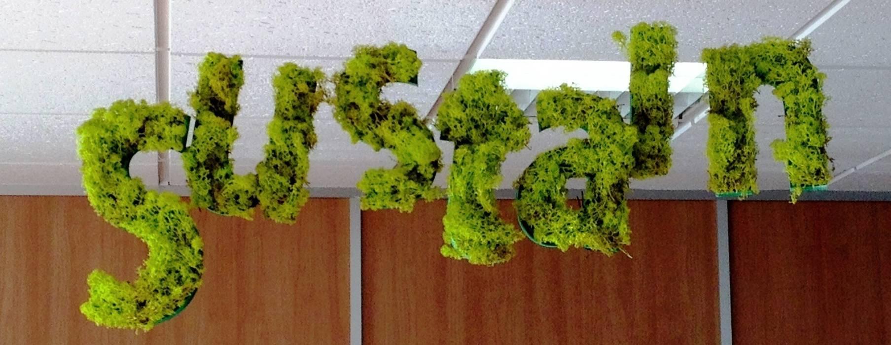 sustain: letras corporativas: Ferias de estilo  de thesustainableproject