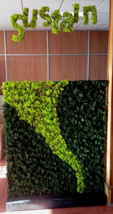 Stand n1 thesustainableproject Diseño de ferias de estilo escandinavo