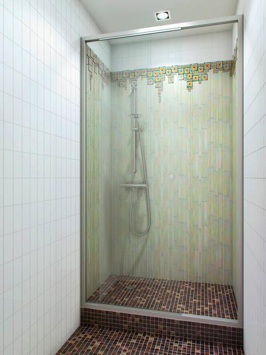 На черноморском берегу Ванная комната в стиле минимализм от Хандсвел Минимализм