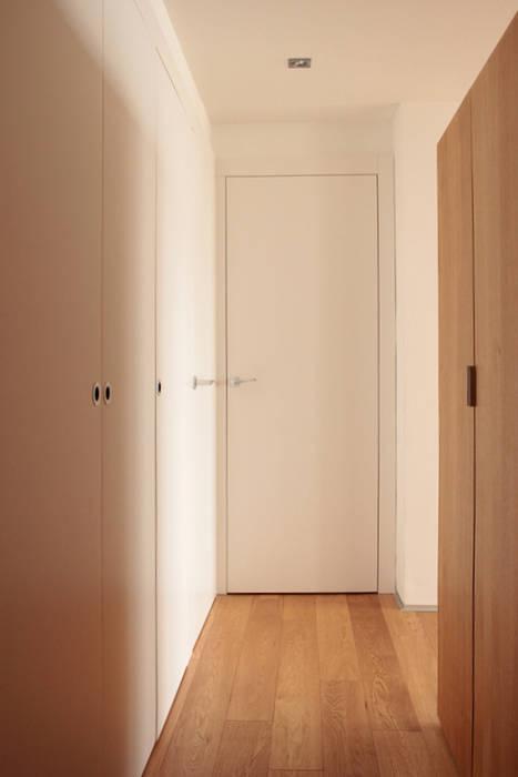 couloir entrée Couloir, entrée, escaliers modernes par cambiums Moderne