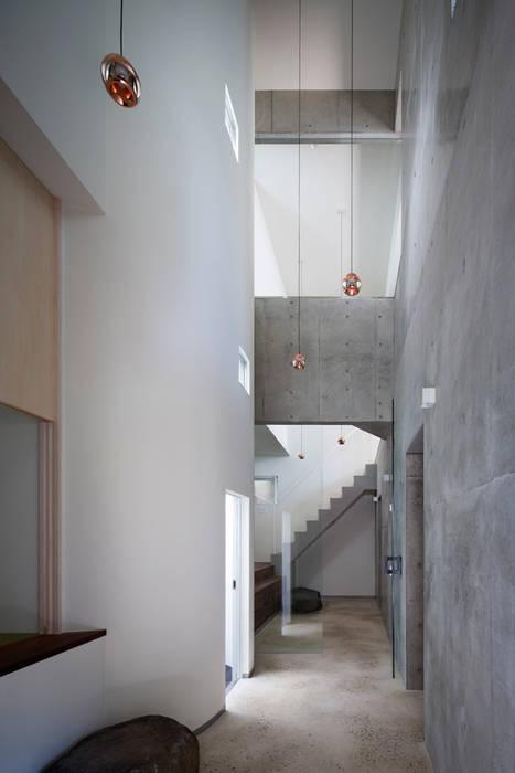 エントランス 和風スタイルの 壁&フローリングデザイン の ARCHIXXX眞野サトル建築デザイン室 和風