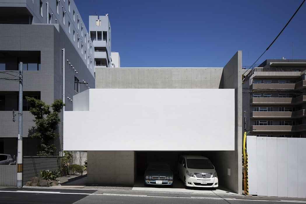 外観(日中): ARCHIXXX眞野サトル建築デザイン室が手掛けた家です。