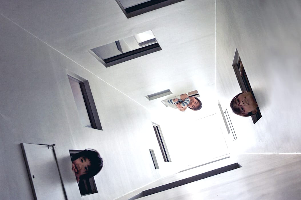 ライトウェル オリジナルな 家 の ARCHIXXX眞野サトル建築デザイン室 オリジナル
