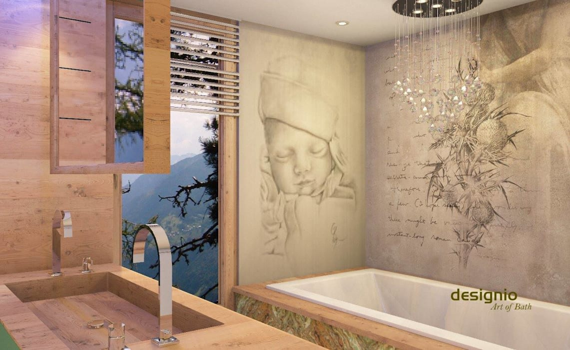 Country style bathroom by Art of Bath Country