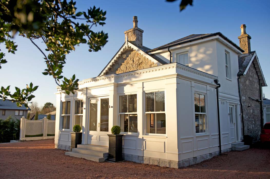 Ramsden House, Peterculter, Aberdeen Mediterranean style houses by Roundhouse Architecture Ltd Mediterranean
