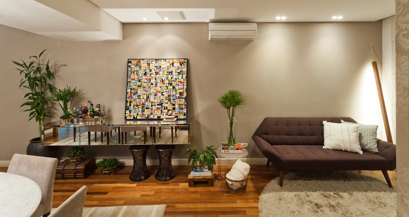 Dining room by IE Arquitetura + Interiores, Modern