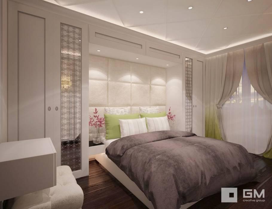Dormitorios de estilo ecléctico de GM-interior Ecléctico