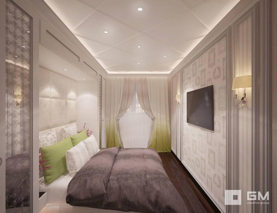 Chambre originale par GM-interior Éclectique